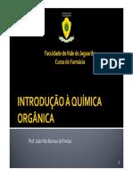 Módulo 1 - Introdução à Química Organica