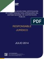 Guía de Evaluación Responsable Jurídico 3