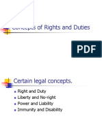 Concepts of Rights and Duties.L2.Dr.gk