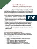 Funciones Procedimientos Competencias y Capacidades Age 7 Enero
