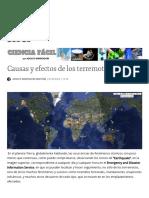 Causas y Efectos de Los Terremotos _ Ciencia Fácil - Blogs Hoy.es