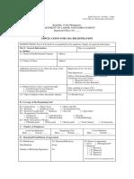 Form Cba Registration Do 40 2003