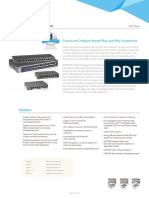 ProSAFE Web Managed Switches DS