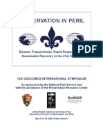 12th USICOMOS Symposium Program (2009)