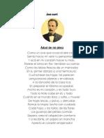 Poetas y 3 Obras