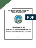 Practicas Preprofesionales 2017 Unac