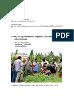 Cuba y su agrodesarrollo orgánico como modelo de sobrevivencia