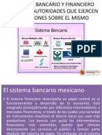 1. El Sistema Bancario y Financiero Mexicano