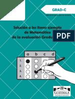 Solucion Items Mate GRAD-C