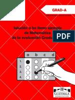 Solucion Items Mate GRAD-A