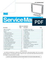 Hp 2009m 2009f Lcd Monitor Service Manual
