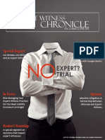 Expert Witness Chronicle-Vol 2-Issue 2-April 2013