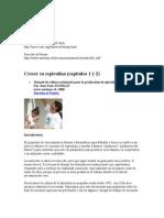 Crecer su espirulina (capítulos 1 y 2)