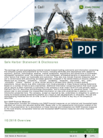 Deere 1qtr 2018 Earnings Call Presentation