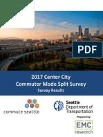 2017 Commuter Mode Split Survey Report