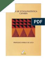Etnolingüística Canaria (Estudio Del Tamazight en Canarias)