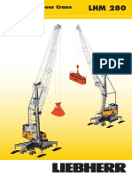 Liebherr Lhm 280 Mobile Harbour Crane Data Sheet en 8007-0