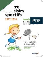 Plaquette Information Centre Sportif (2)