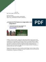 ¿Avanza la FAO hacia un compromiso real con los campesinos?