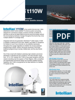Intellian t110W Brochure
