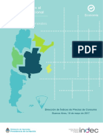 Indice de Precios al Consumidor Argentina