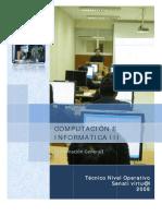 Info Del Curso Computacion III