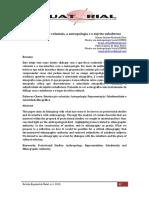 Freire & Silva, 2013. Os Estudos Pós-coloniais, A Antropologia e o Sujeito Subalterno