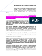 Acerca de La Tendencia Al Corto Plazo en La Conducta Del Venezolano de Estos Días