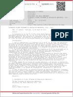 RES-177 Establece Primer Programa de Regulación Ambiental