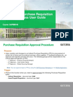 SAPMM150_SAP Indirect Purchase Requisition Approval User Guide
