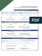 Bitacora de Defuncion HSM-En-FO05