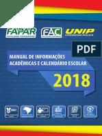 Calendario FAPAR FAC
