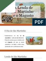 A lenda de São Martinho e o Magusto