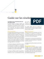 Guide sur les resolutions - NPD