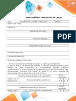 Anexo 3. Formato Análisis y Descripción de Cargos (1)