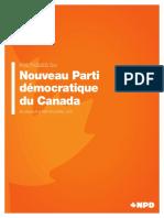 Politiques du NPD
