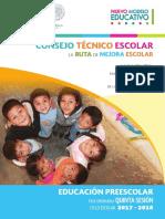 Preescolar 5a Sesiocc81n Cte 2017 18
