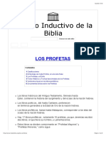 Los Profetas - Estudio Inductivo de La Biblia