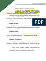 F1 - Modelo - Contrato de Prestação de Serviços