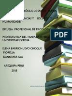 propedeutica universitaria
