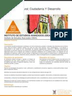Patrimonio Cultural; Ciudadanía y Desarrollo Local