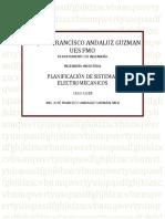 Planificacion de Sistemas Electromecanicos 2018