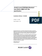 06-6200-202 Alcatel-Lucent 9100 Multi-Standard Base Station MBO1 DC Site Specification