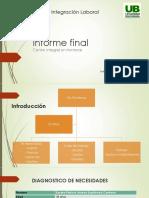 Informe Final Proyecto Integración Laboral