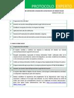 Protocolo Aspectos de Control Rad Uv.pt020v01