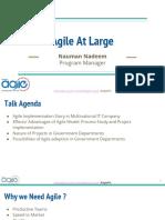 Agile at Large by Nauman Nadeem