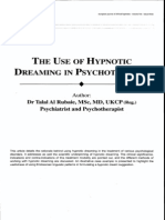 The Use of Hypnotic Dreaming in Psychotherapy