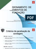 Slides Fundações Concreto Armado - Dimensionamento de Fundação