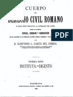 Cuerpo Del Derecho Civil Romano Tomo i