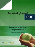 Configuração e Implantação - ServiceINFOMED